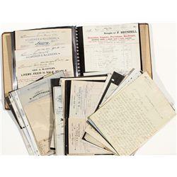 Silver City & Ruby City Idaho Territorial Document Collection - Silver City, Ruby City, ID