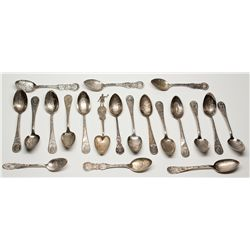 Columbian Expo Souvenir Spoons Collection - Chicago, IL