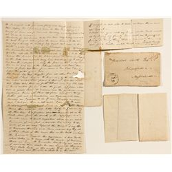 Jed Smith Letter, War of 1812 - Natchez, MS