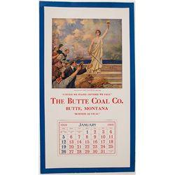 Butte MT. Calendar - Butte, MT