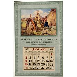 Omaha Grain Store Calendar - Omaha, NE