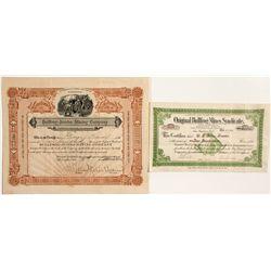 Bullfrog Mining Stock Certificates - Bullfrog, NV