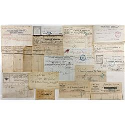 Carson City Printers Collection - Carson City, NV