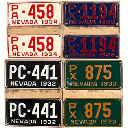 Nevada License Plates - Carson City, NV