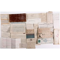 Private Papers of Trenmor Coffin  - Carson City, NV
