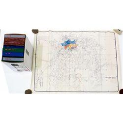 Nevada Mining Patent Records & Goldfield Plat Map Group - Goldfield, NV
