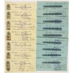 Bank of Nevada Checks by Theo Winters - Reno, NV