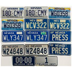Reno Personalized License Plates Collection - Reno, NV
