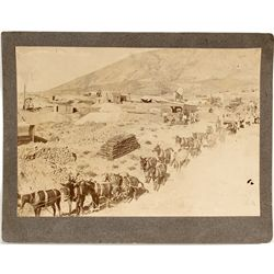 Mining View of Tonopah Photograph  - Tonopah, NV