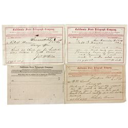 Telegram Collection Re: Comstock Acquisitions - Virginia City, NV
