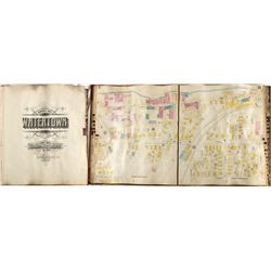 Watertown NY Insurance Parcel Ledger - Watertown, NY