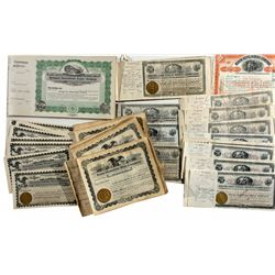 Western Stock Certificates - Baker City, OR