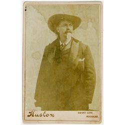 "W.F. Cody ""Buffalo Bill"" Photograph -"