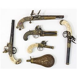 Flintlock Pistol Replica Group -