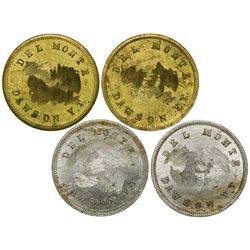 Yukon Gold Rush Tokens - Dawson, AK