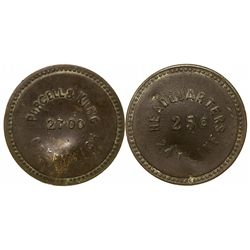 Purcell & King Military Token  - San Francisco, CA