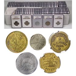 Comstock Region Token Collection  -  NV