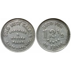 Gold Dust Saloon Token - Baker City, OR