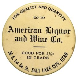 America Liquor & Wine Mirror - Salt Lake City, UT