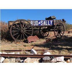 Bud & Sally wagon -
