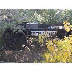 Tip Top Drayage Wagon and Artifacts -