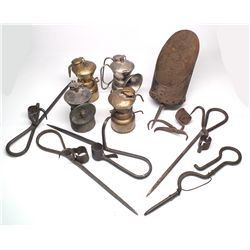 Baldwin Carbide Lamp Quartet -