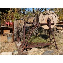 Blacksmith Grinding Wheel with Seat -