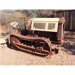Old Hand Crank Tractor-Truck -