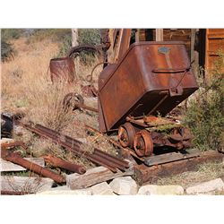 Ore Car with Tag & Track -