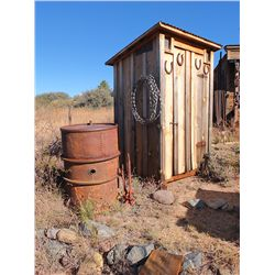 Outhouse & Artifacts -