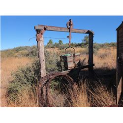 Travelling Ore Bucket & Barbed Wire -