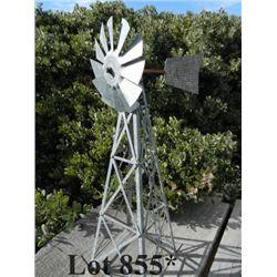 LARGE LOT of buggy, belt drive, old water pump, ore bucket, tram bucket, mini wind mill