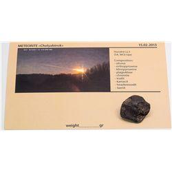 Chelwabinsk Meteorite 14.2 Grams  -