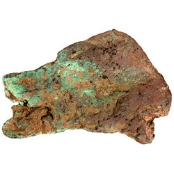 Wolf Head Copper Specimen - Keweenaw Peninsula, MI