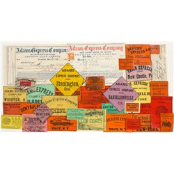 19th Century Express Label Collection -