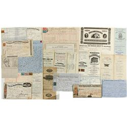 19th Century Insurance Documents Group -