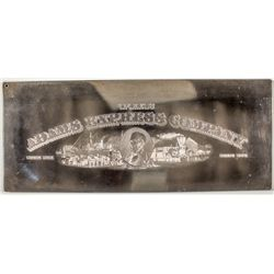 Adams Express Priority Common Stock Print Plate  -