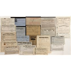 Eastern Express Company Document Collection -