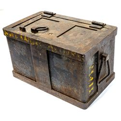 Railroad Strong Box -
