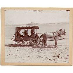 Stage Coach Photo, Inyo Death Valley Shoshone -