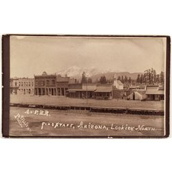 Flagstaff Railroad Photograph - Flagstaff, AZ