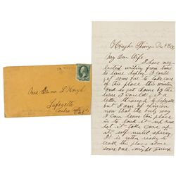 Wells Fargo Letter & Cover - Bartlett Springs, CA