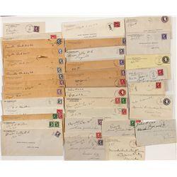 Lyon County, Nevada Postal Covers -  NV