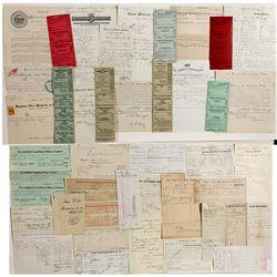 Nevada Railroad Documents -  NV