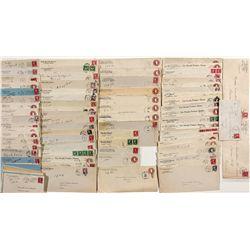 Pershing County Postal Covers -  NV