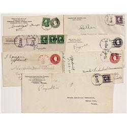 Southern Nevada Postal Covers -  NV