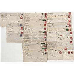 White Pine County Postal Covers -  NV