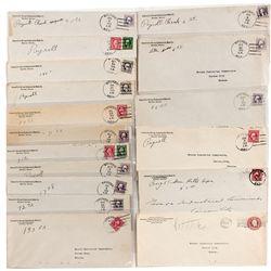 Bruner Postal Covers - Bruner, NV