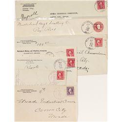 Rare Elko County Postal Covers - Clover City, NV