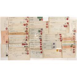 Elko County Postal Covers - Cobre, NV